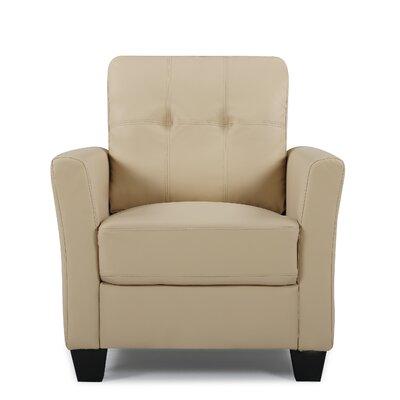 Fairborn Armchair Upholstery: Beige