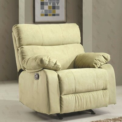 Deerwood Rocker Recliner Upholstery Color: Pear