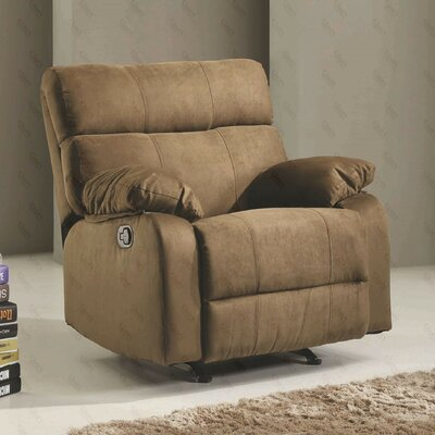 Deerwood Rocker Recliner Upholstery Color: Peat