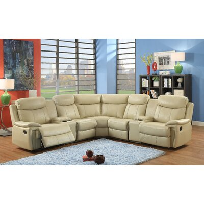Southridge Reclining Sectional Upholstery: Putty