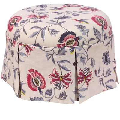 Donoghue Round Skirted Ottoman