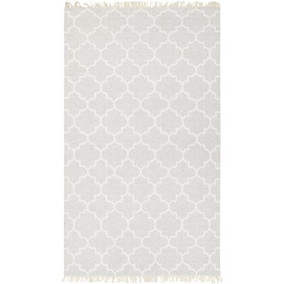 Palladio Hand-Woven Wool Light Gray Area Rug Rug Size: Rectangle 33 x 53