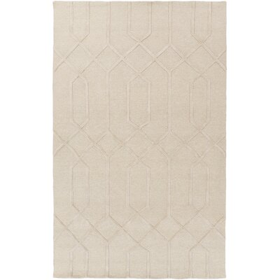 Rarden Light Gray Area Rug Rug Size: Rectangle 9 x 13