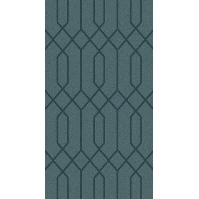 Rarden Teal Area Rug Rug Size: Rectangle 2 x 3