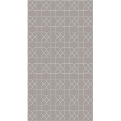 Rarden Gray Area Rug Rug Size: Rectangle 9 x 13