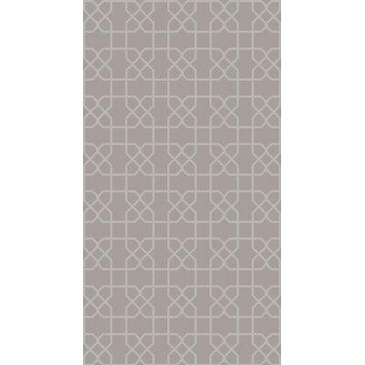 Rarden Gray Area Rug Rug Size: 8 x 10