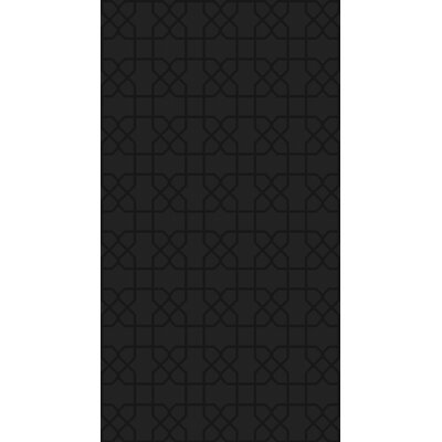 Rarden Black Area Rug Rug Size: Rectangle 4 x 6