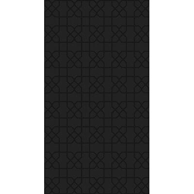 Rarden Black Area Rug Rug Size: 6 x 9