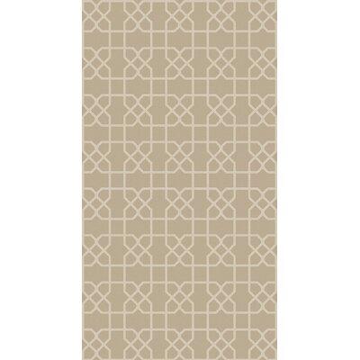 Rarden Ivory Area Rug Rug Size: 4 x 6