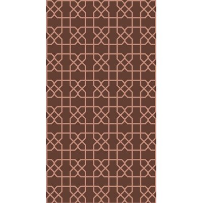 Rarden Mocha Area Rug Rug Size: Rectangle 2 x 3