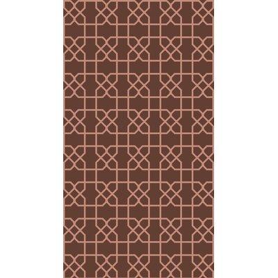 Rarden Mocha Area Rug Rug Size: 4 x 6