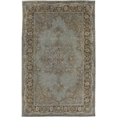 Benefit Beige/Slate Area Rug Rug Size: Rectangle 33 x 53