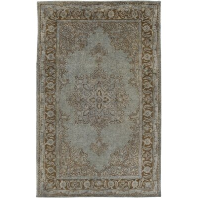Benefit Beige/Slate Area Rug Rug Size: Rectangle 5 x 8