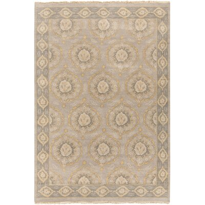 Palmwood Gray/Mocha Rug Rug Size: Rectangle 6 x 9