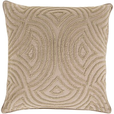 Lawrenceville 100% Linen Throw Pillow Cover Size: 20 H x 20 W x 1 D, Color: Neutral