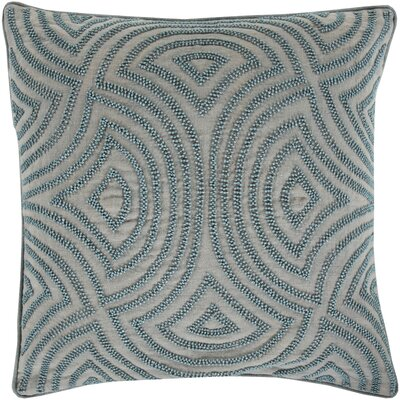 Lawrenceville 100% Linen Throw Pillow Cover Size: 20 H x 20 W x 1 D, Color: Blue