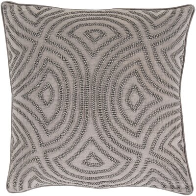 Lawrenceville 100% Linen Throw Pillow Cover Size: 20 H x 20 W x 1 D, Color: Gray