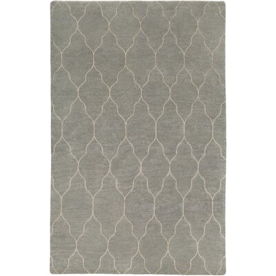 Moreton Hand-Knotted Neutral Area Rug Rug Size: Rectangle 9 x 13