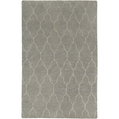 Moreton Hand-Knotted Neutral Area Rug Rug Size: 9 x 13