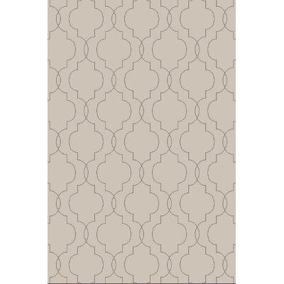 Amenia Light Gray Geometric Rug Rug Size: 9 x 13
