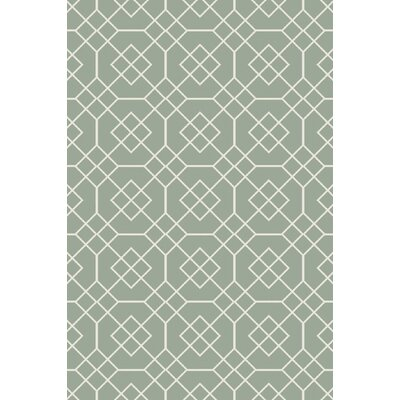 Amenia Sea Foam Geometric Rug Rug Size: Rectangle 2' x 3'