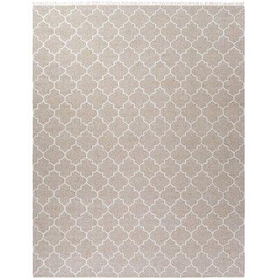 Palladio Hand-Woven Gray Area Rug Rug Size: Rectangle 8 x 10