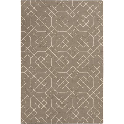 Amenia Beige Geometric Rug Rug Size: Rectangle 8 x 10