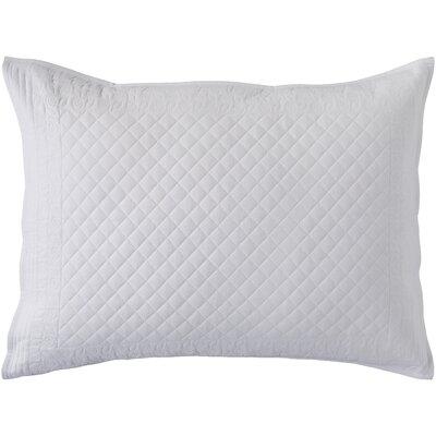 Pocono Sham Size: Standard, Color: White