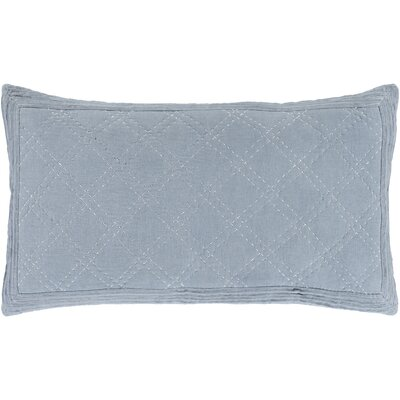 Riverport Sham Size: King, Color: Denim/White