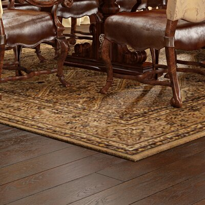 Raphael Hand Woven Wool Light Gold Indoor Area Rug