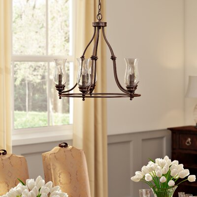 Shives 5-Light Candle-Style Chandelier