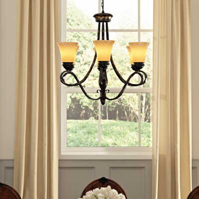Hoopeston 6-Light Shaded Chandelier