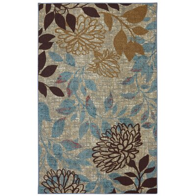 Morgandale Beige Indoor/Outdoor Area Rug