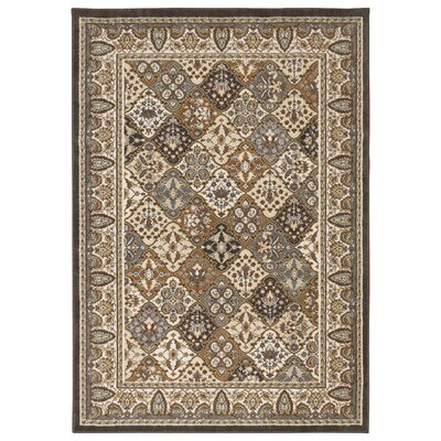 Neapolis Interlude Brown / Cream Area Rug