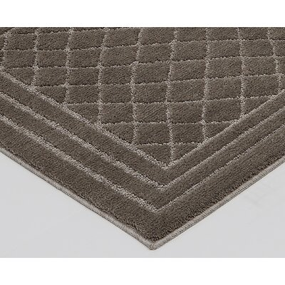 Nordham Brown Area Rug Rug Size: 26 x 310