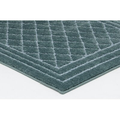 Northledge Denim Blue Area Rug Rug Size: Rectangle 26 x 310