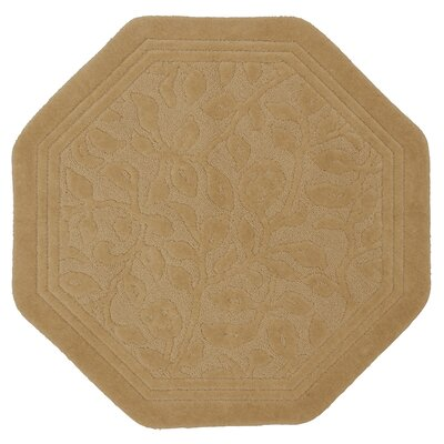 Pondsdale Bath Rug Color: Gold, Size: 48 x 48