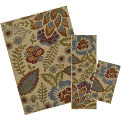 Owensville 3 Piece Multi Area Rug Set
