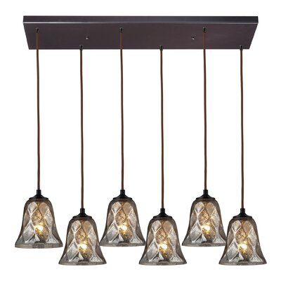 Orwell 6-Light Kitchen Island Pendant Finish: Oiled Bronze