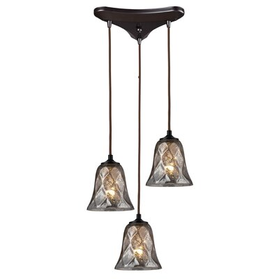 Orwell 3-Light Pendant Finish: Oiled Bronze