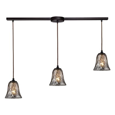 Orwell 3-Light Kitchen Island Pendant Finish: Oiled Bronze
