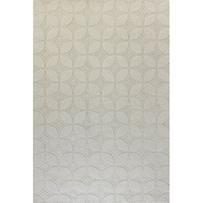 Morgan Hand-Woven Ivory Area Rug Rug Size: 5 x 76