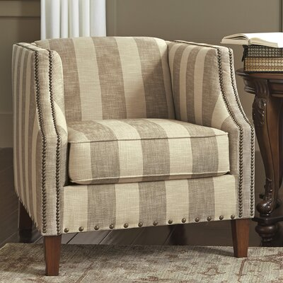Tallmadge Striped Armchair