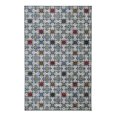 Andenwood Gray Area Rug Rug Size: Rectangle 5 x 8