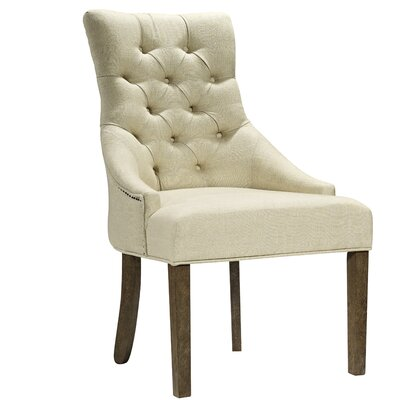 Edgardo Side Chair Upholstery: Beige