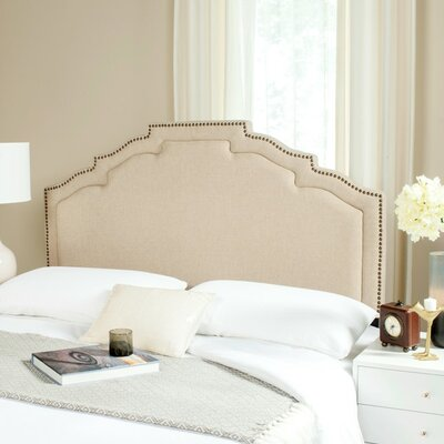 Parsonsfield Upholstered Panel Headboard Size: Queen