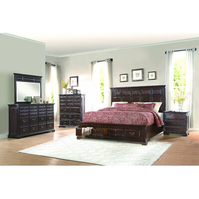 Plumcreek Storage Platform Bed Size: King
