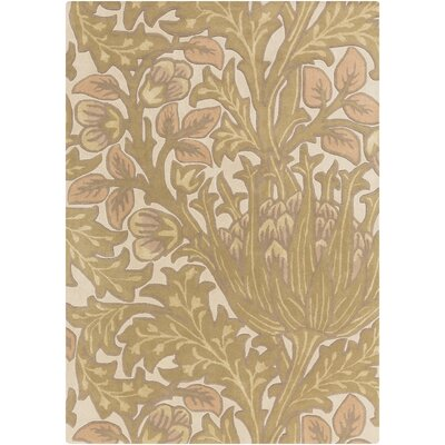 Oneill Olive/Tan Area Rug Rug Size: Rectangle 5 x 8