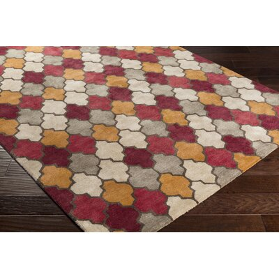 Grant Hand-Tufted Area Rug Rug size: Rectangle 5 x 8