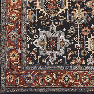 Hazlewood Hand-Knotted Area Rug Rug size: 2 x 3